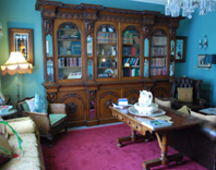Glenlo Abbey Luxury Galway library photo
