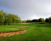 Golf Course in Ireland Rainbow photo